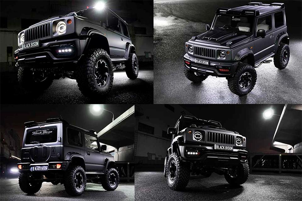 Black Bison Edition, el modelo más salvaje de Suzuki Jimmy