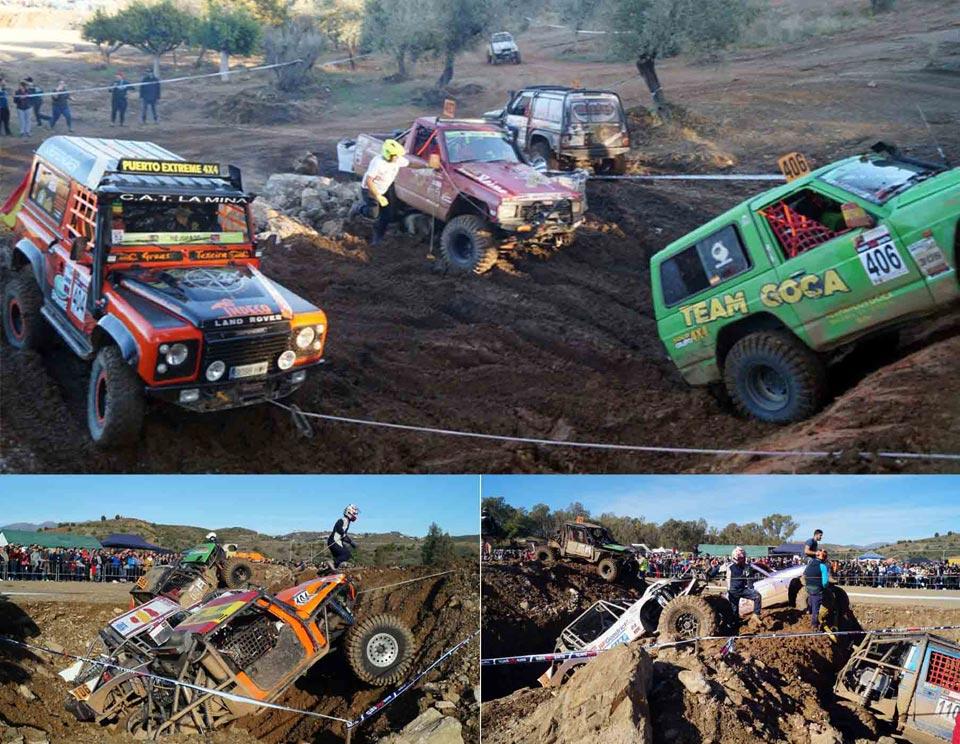 Finaliza el Campeonato Extremo 4x4 de Andalucía en Mijas