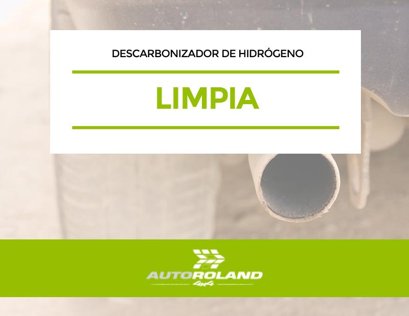 limpia DESCARBONIZADOR DE HIDROGENO PARA MOTORES DIESEL Y GASOLINA