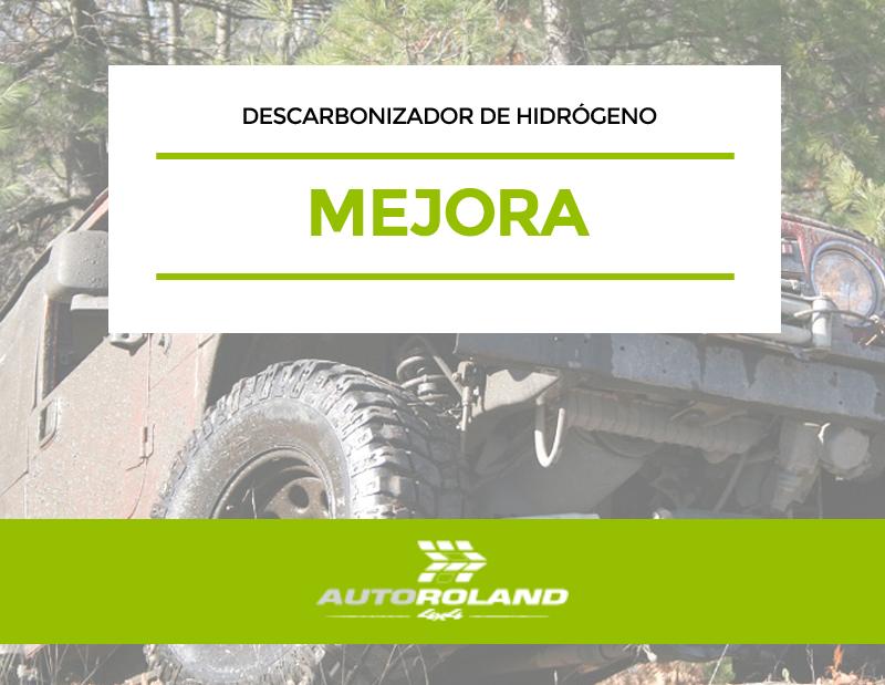 mejora DESCARBONIZADOR DE HIDROGENO PARA MOTORES DIESEL Y GASOLINA