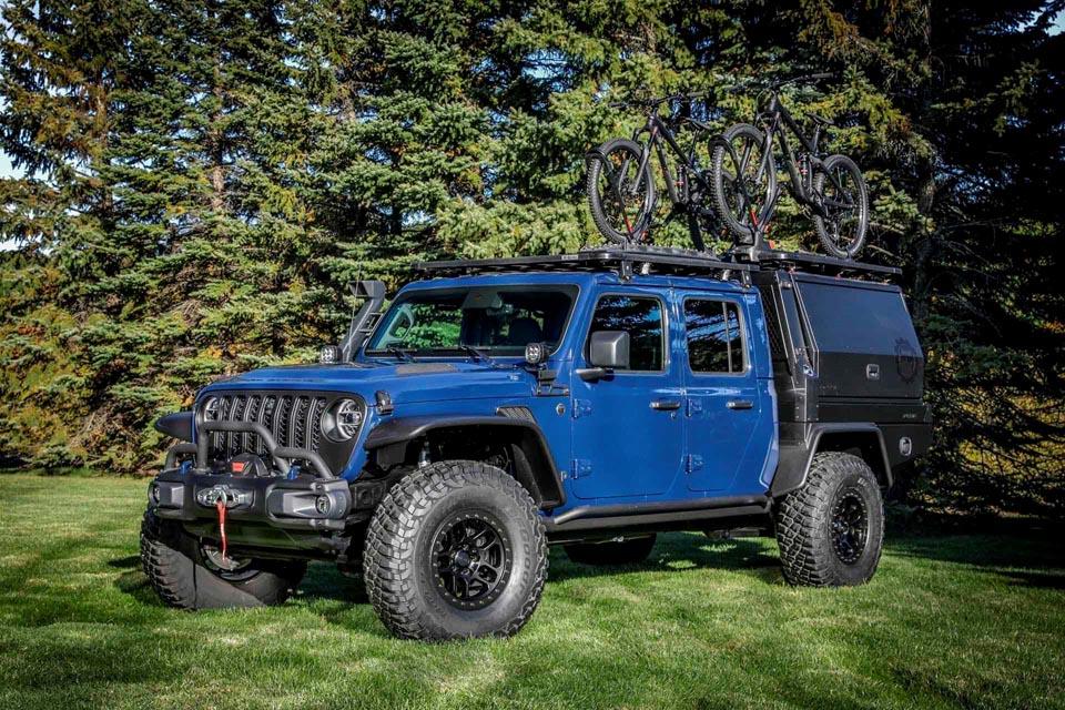 Echa un vistazo al Jeep Gladiator Top Dog