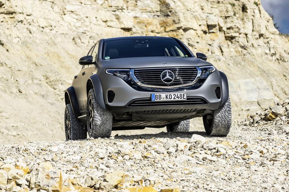 Conoce el nuevo SUV de Mercedes, el EQC 4x4² Concept