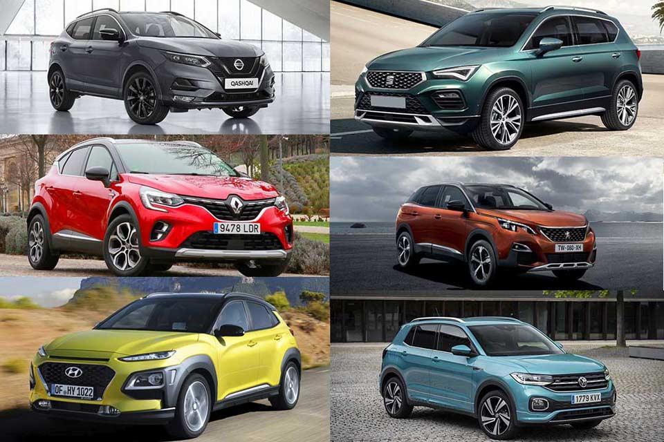 ¿Quieres conocer cuáles han sido los SUV más vendidos en 2020?
