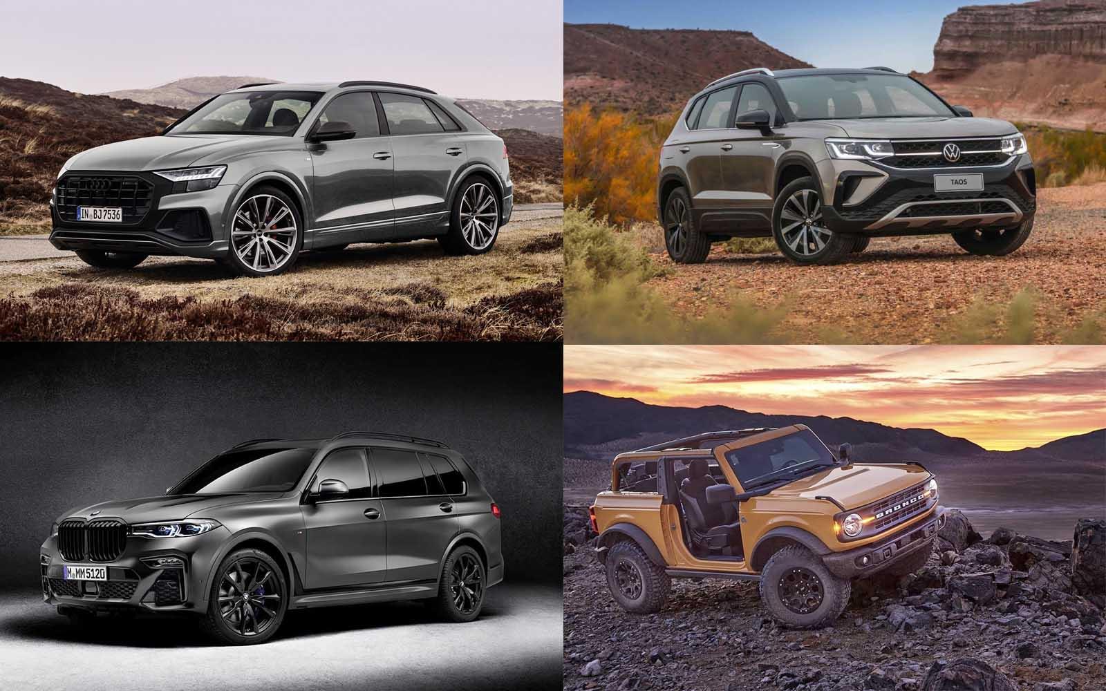 Novedades destacadas en todoterrenos y SUV: Audi, Ford, Volkswagen y BMW